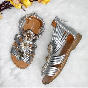 🌺 2/$20  JUMPING BEANS | 6 Baby Gladiator Sandals
